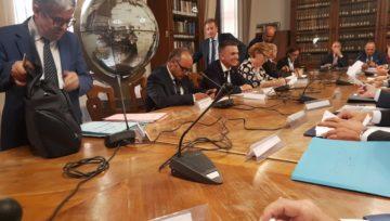 Incontri Istituzionali Le Associazioni hanno incontrato il Vice-Ministro dei Trasporti
