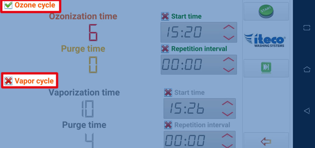Ozone - App smartphone