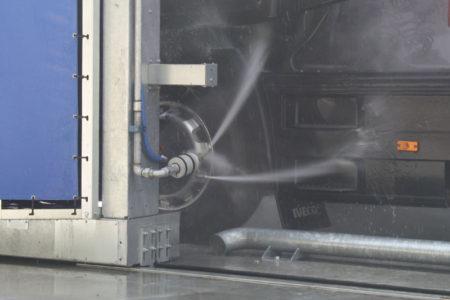 Teste rotanti - Lavaggio portale